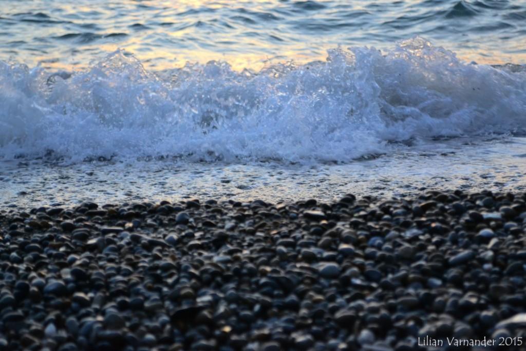 I strandkanten